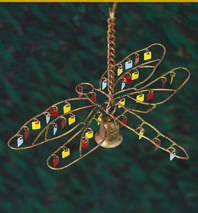 Happy Gardens - Dragonfly Dangles Wind Chime