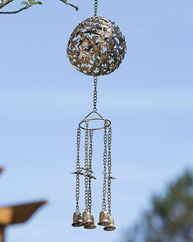 Happy Gardens - Dragonfly Sphere Wind Chime