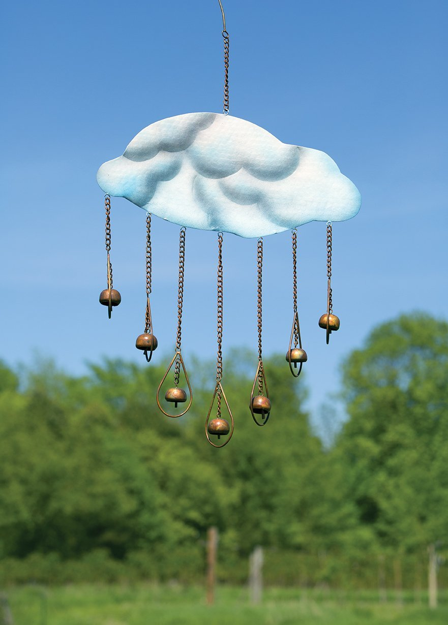 Happy Gardens - Clouds and Drops Wind Chime