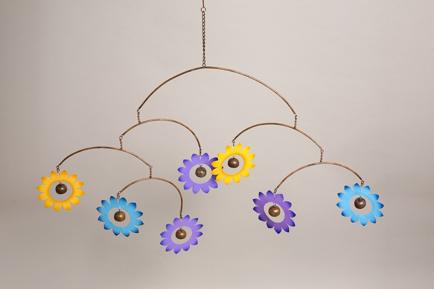 Happy Gardens - Multicolor Flower Hanging Mobile