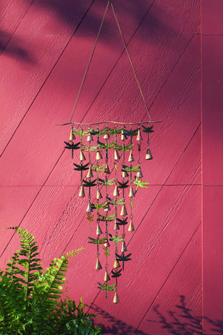A wind chime can boost outdoor sensory experiences.