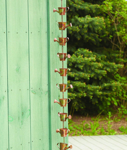 This watering can rain chain is a great gift for any gardener.