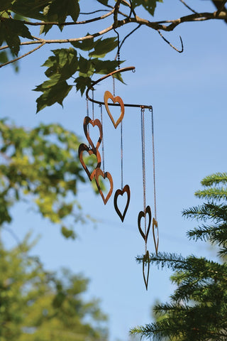 Happy Gardens - Heart Spiral Mobile