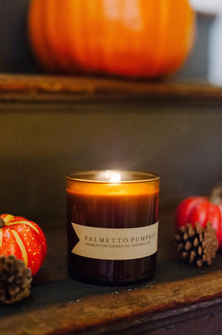 Happy Gardens - Pumpkin Candle