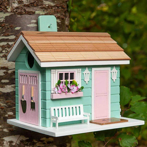 Happy Gardens - She Shed Birdhouse