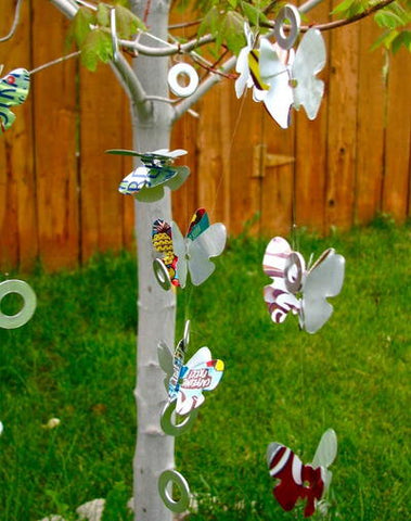 Happy Gardens - Soda Can Wind Chime