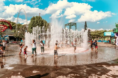 Happy Gardens - Splash Pad