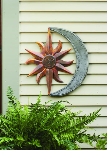 Happy Gardens - Sun and Moon Wall Hanging