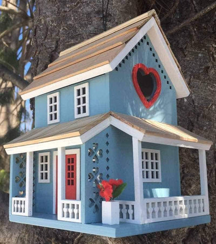 Happy Gardens - The Love Birds Bird House