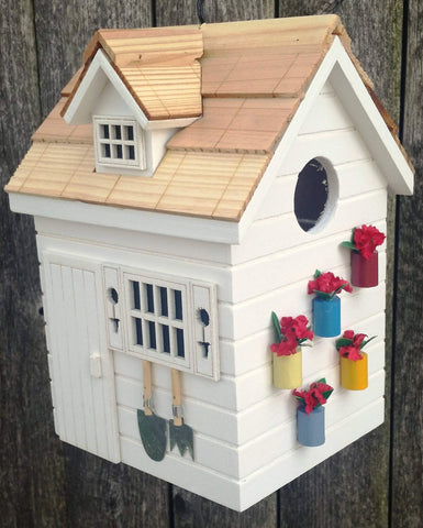 Happy Gardens - Tool Shed Bird House
