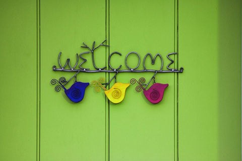 Happy Gardens - Welcome Sign