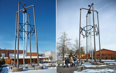 World's Largest Windchime