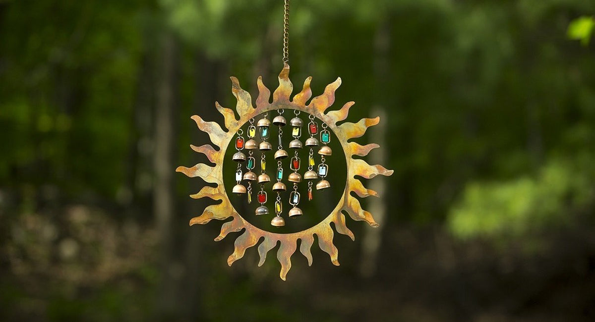 garden and yard wind chime