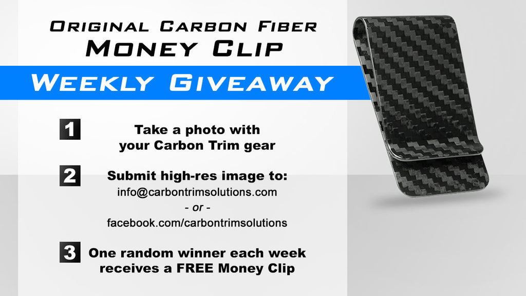 How To Win a Carbon Fiber Money Clip