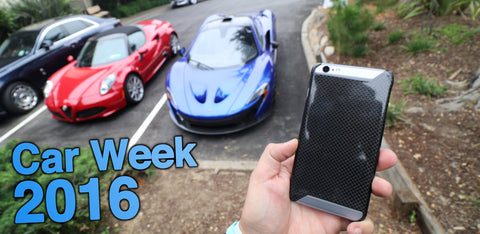 Car week 2016 carbon fiber news highlights