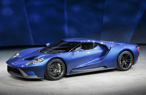new Ford GT carbon fiber construction