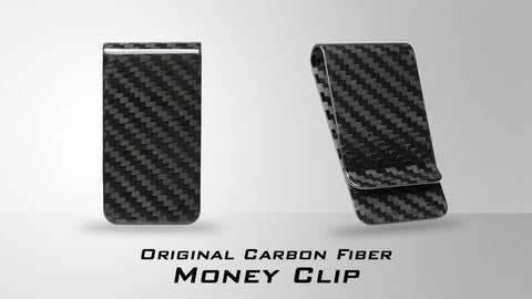 Carbon fiber money clips announcement