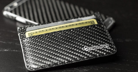 carbon fiber cardholder wallet announcement