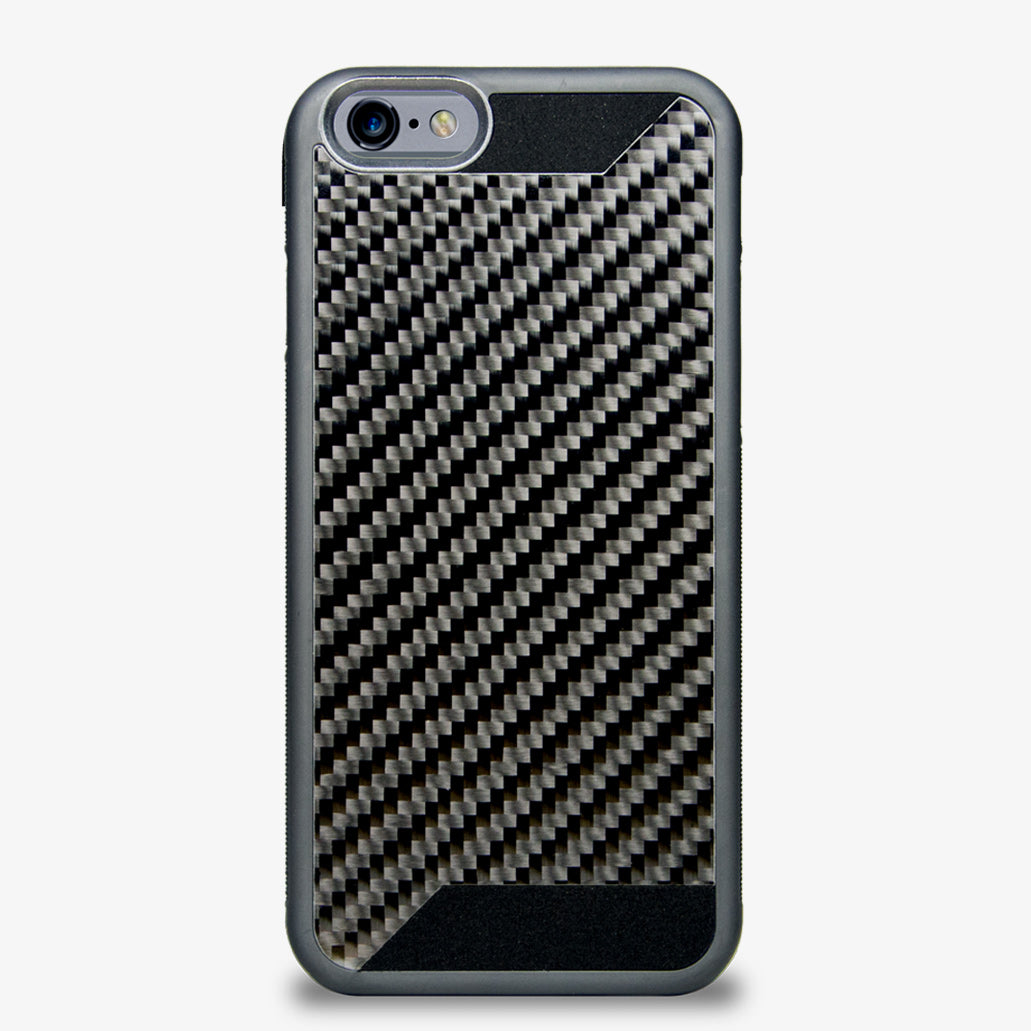 Carbon Fiber Iphone Case >> Ctslite Real Carbon Fiber Rubber Case For Iphone 6
