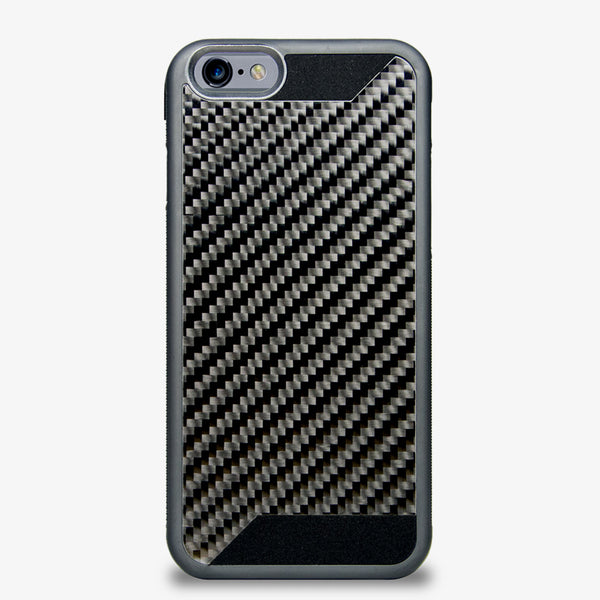 Real carbon fiber and rubber protective case for iPhone 6 by Carbon Trim Solutions