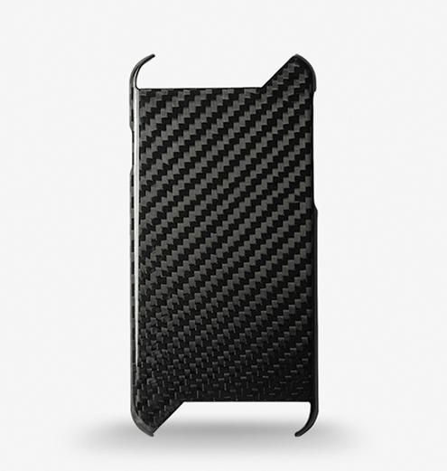 Twill weave gloss finish carbon fiber case for iPhone 6