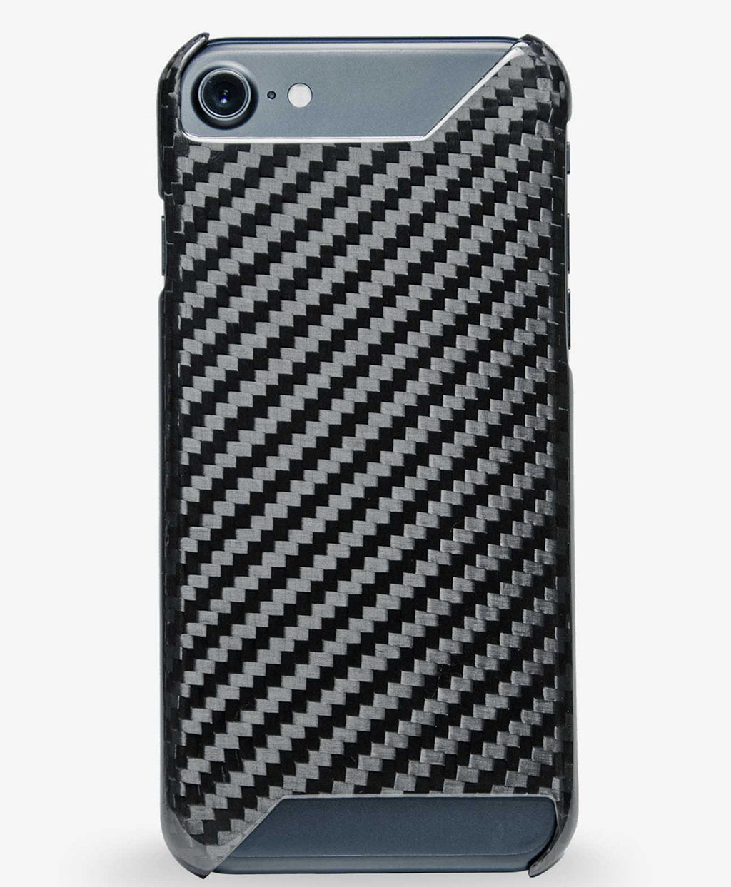 Carbon fiber iPhone 8 case, matte finish