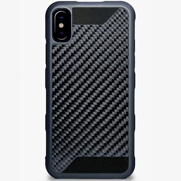 brand new 87ab3 9923d CTSlite Real Carbon Fiber/Rubber Case for iPhone X & Xs