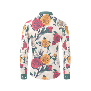 Rose Garden Button Down