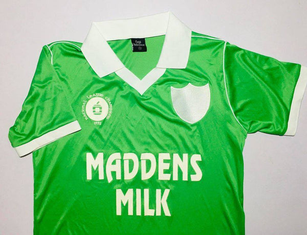 Limerick 1992 National League Champions Retro Jersey - Maddens Milk sponsor