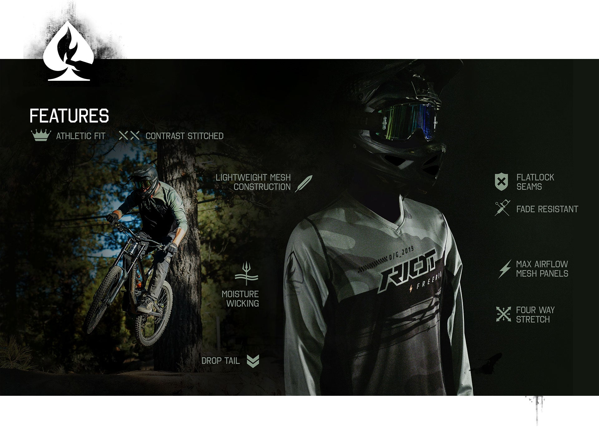 MX/DH Jersey Features