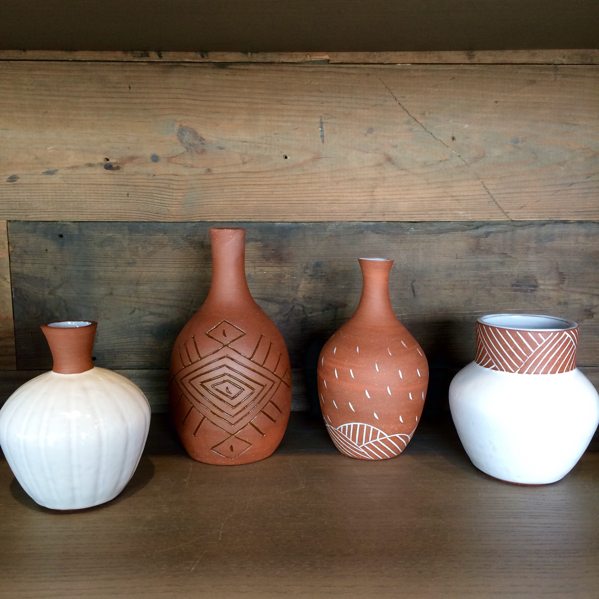 Pottery by OSA: Terra Cotta Vases