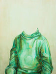 """Green Turtleneck"" by Stephen J. Hoskins"