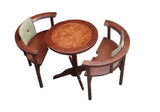 ATUU  Round Table with Back Cushions