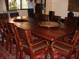 Dining Set - Nkyim Table 12 pcs chairs