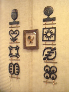 Wall Hanging - Giant Adinkra Mats (Male and Female)
