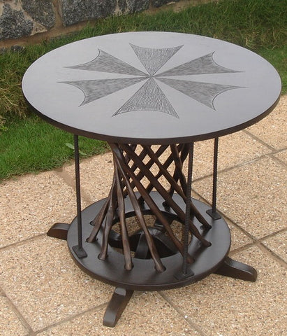 Nkyim Lamp Table