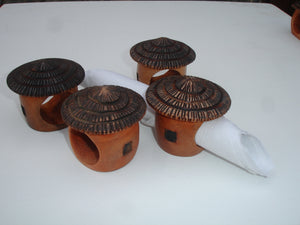 Napkin Hut Rings