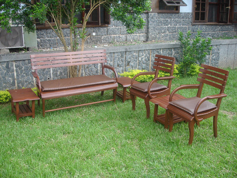 NKYIM OUTDOOR BENCH SET
