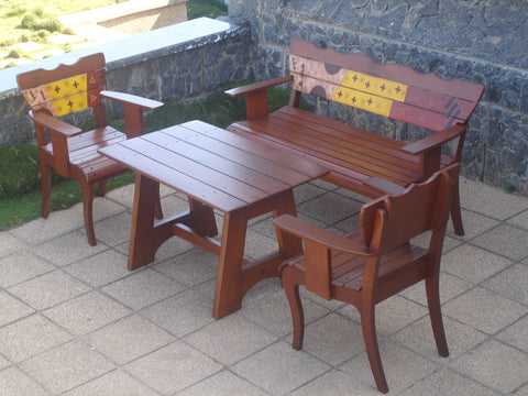 Nkomode Outdoor Bench Set