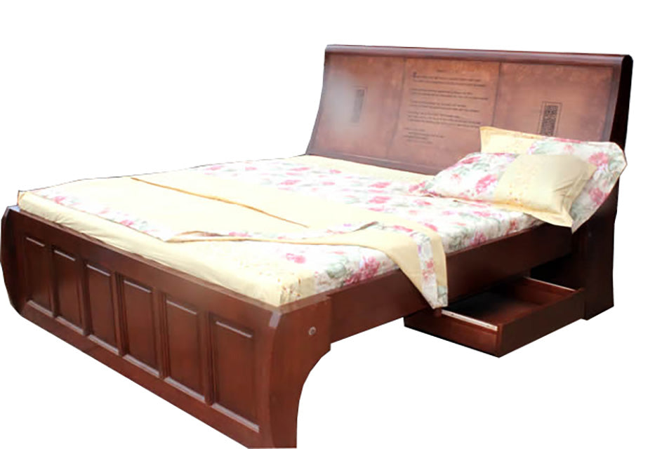 Bed King Queen size with Quotation