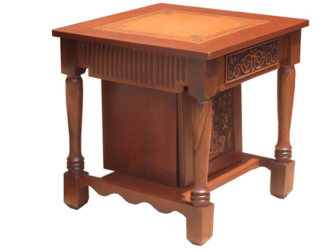 Table with Chest & Drawer