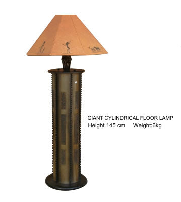Lamp Giant Cylindrical Floor