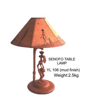 Senofo Table Lamp