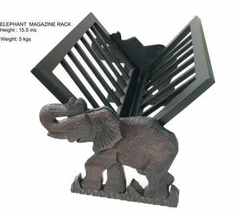 Elephant Magazine Rack