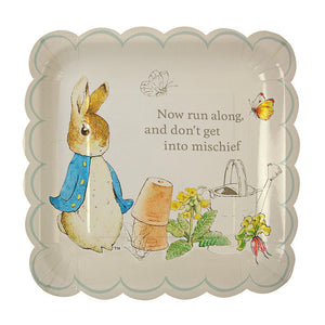 Meri Meri Peter Rabbit Large Scallop Plates