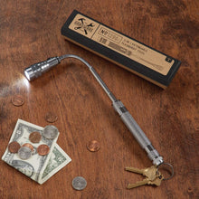 Extendable Flashlight Pick-Up Tool