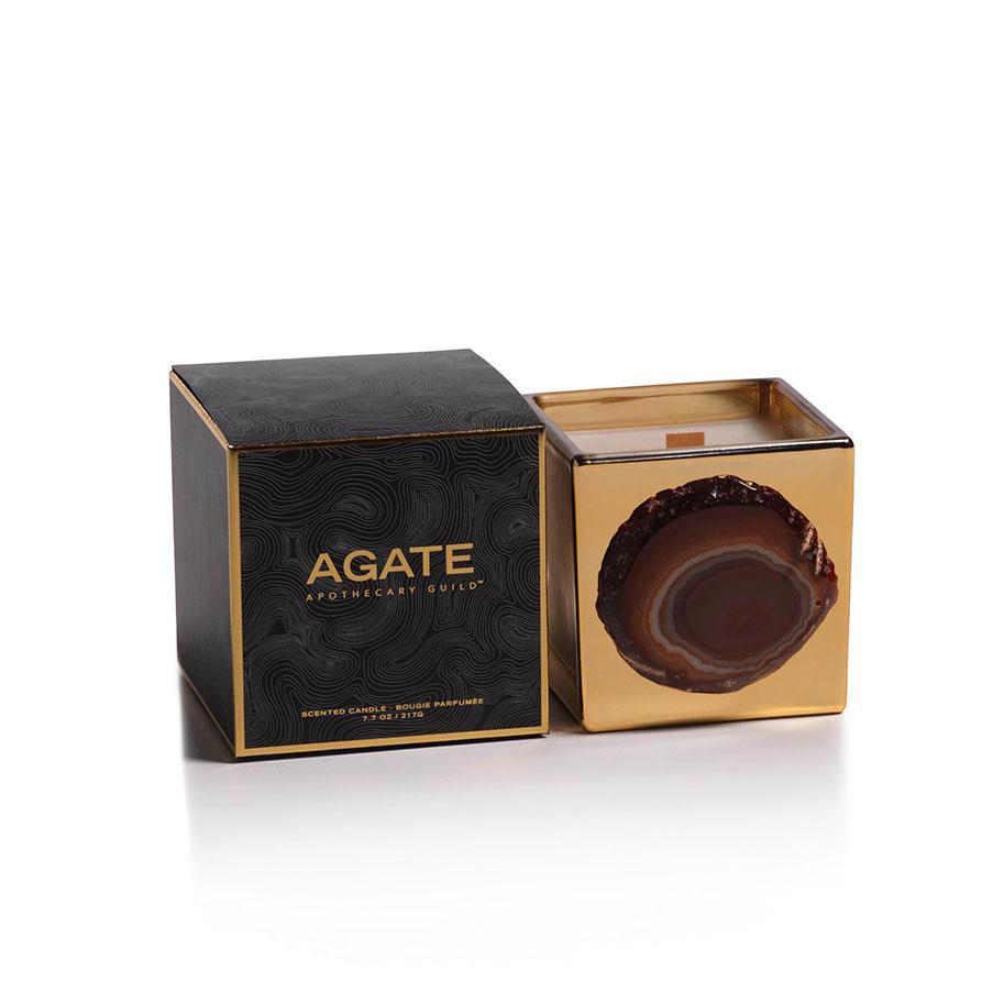 Agate Mangosteen Scented Candle