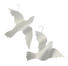 Acrylic Dove Christmas Ornament Medium