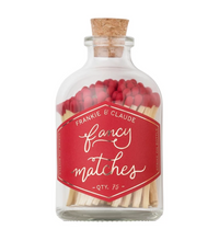 Fancy Matches™ Small Red Match Jar