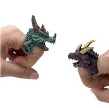 Dragon Duel Mystery Dragon Adjustable Ring Finger Puppet
